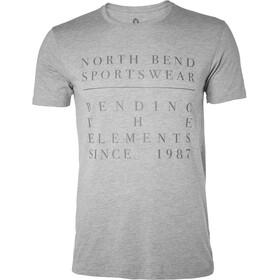 North Bend College T-shirt Homme, grey melange